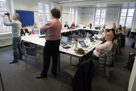 Erster Schweizer Social Media Kurs - am MAZ